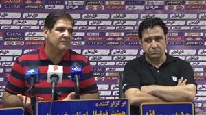 صحبت های رضا مهاجری پس از بازی با نفت مسجد سلیمان