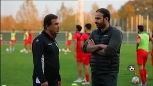 گزارش جذاب از تمرین تیم ملی امید