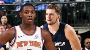 خلاصه بسکتبال دالاس ماوریکس- نیویورک نیکس