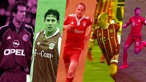 5 گل برتر بایرن مونیخ برابر دورتموند