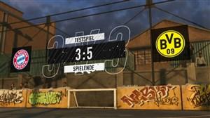 فوتبال خیابانی فیفا؛ بایرن مونیخ - دورتموند