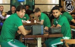 آخرین تمرینات تیم ملی عراق برای دیدار با ایران