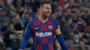 گل دوم بارسلونا به سلتا با کاشته تماشایی مسی