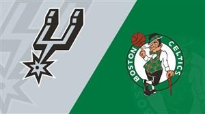 خلاصه بسکتبال سن آنتونیو - بوستون سلتیکس