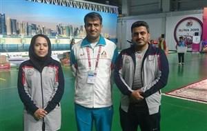 مدال برنز برای تیم تپانچه میکس ایران