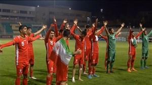 گلهای بازی ایران - امارات (زیر 19 سال آسیا)