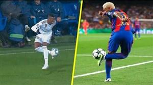 مهارت های تماشایی بازیکنان در کنترل توپ