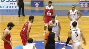 خلاصه بسکتبال اکسون 68 - مهرام 72