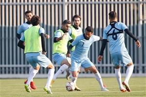 گزارش اختصاصی از تمرین تیم ملی ایران