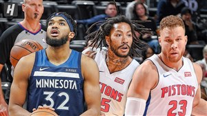 خلاصه بسکتبال دیترویت پیستونز - مینهسوتا تیمبرولوز
