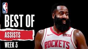 برترین پاسهای هفته سوم بسکتبال NBA