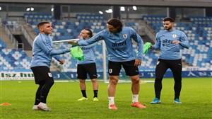 مروری بر تمرینات تیم ملی اروگوئه