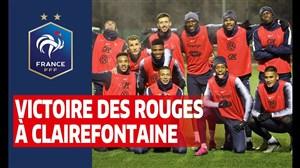نگاهی به تمرینات بازیکنان تیم ملی فرانسه