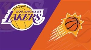خلاصه بسکتبال لس آنجلس لیکرز - فینیکس سانز