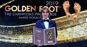 لوکا مودریچ برنده جایزه پای طلایی 2019 شد
