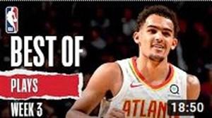 حرکت های برتر هفته سوم بسکتبال NBA