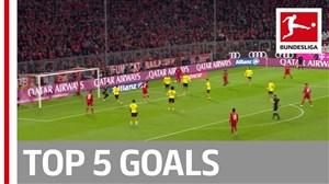 5 گل برتر هفته یازدهم بوندسلیگا 20-2019
