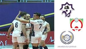خلاصه والیبال شهرداری ورامین 3 - شهرداری گنبد 1