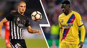خلاصه بازی دوستانه بارسلونا 2 - کارتاخنا 0
