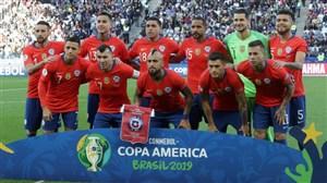 خروج شیلیاییها از تیم ملی به خاطر ناآرامیها