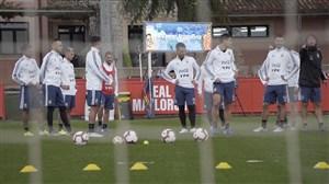 تمرینات آماده سازی ستارگان تیم ملی آرژانتین