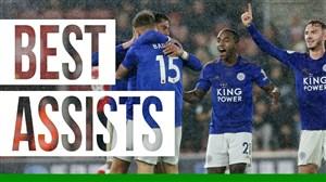 پاس گلهای تماشایی بازیکنان لسترسیتی در فصل 20-2019