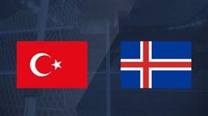 خلاصه بازی ترکیه 0 - ایسلند 0