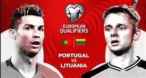 خلاصه بازی پرتغال 6 - 0 لیتوانی(مقدماتی یورو2020)