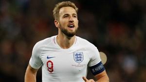 هری کین، گلزنترین کاپیتان تاریخ تیم ملی انگلیس شد