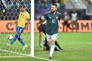 برزیل 0-1 آرژانتین: پیروزی آلبی سلسته با گلزنی مسی