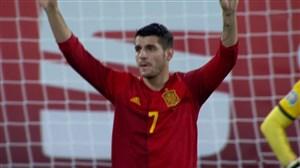 گل اول اسپانیا به مالت (موراتا)