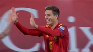 گل سوم اسپانیا به مالت (تورس)