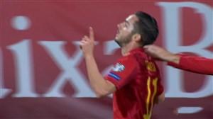 گل چهارم اسپانیا به مالت(سارابیا)