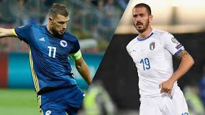 خلاصه بازی بوسنی 0 - ایتالیا 3