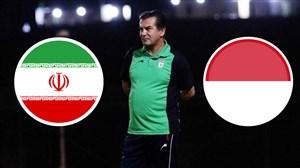 خلاصه بازی امید اندونزی 2 - امید ایران 1 (دوستانه)