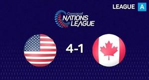 گلهای بازی آمریکا 4 - کانادا 1 (کونکاکاف)