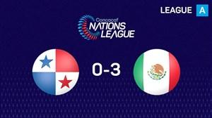 گل های بازی مکزیک 3 - پاناما 0 (کونکاکاف)
