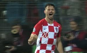 گل دوم کرواسی به اسلواکی (پتکوویچ)