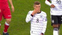 گل چهارم آلمان به بلاروس با حرکت زیبای کروس