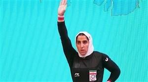 اولین مدال بین المللی وزنه برداری بانوان ایران