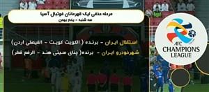 زمان دیدارهای استقلال و شهر خودرو در لیگ قهرمانان آسیا