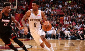 خلاصه بسکتبال میامی هیت - نیو اورلینز