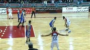 خلاصه بسکتبال شیمیدر قم 63 - پتروشیمی بندر امام 82