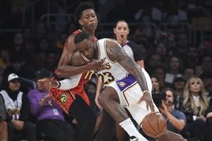 خلاصه بسکتبال لس آنجلس لیکرز - آتلانتا هاوکس