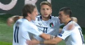 گل اول ایتالیا به ارمنستان (ایموبیله)