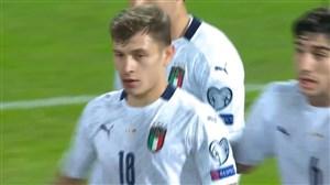 گل سوم ایتالیا به ارمنستان (بارلا)
