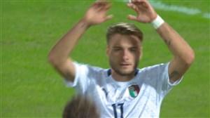گل چهارم ایتالیا به ارمنستان (ایموبیله)