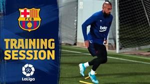 تمرینات آماده سازی بارسلونا تحت هدایت والورده