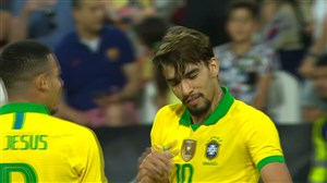 گل اول برزیل به کره جنوبی (لوکاس پاکوئتا)