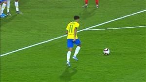 گل دوم برزیل به کره جنوبی با ضربه کاشته کوتینیو